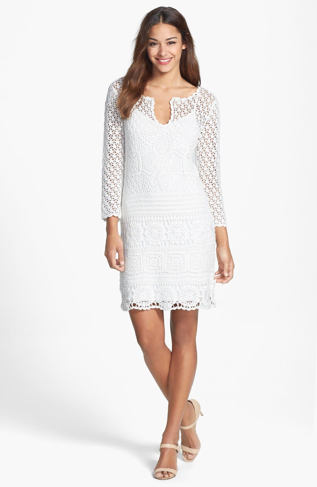 Alternate Image 3  - Trina Turk 'Lanai' Crochet Lace Dress