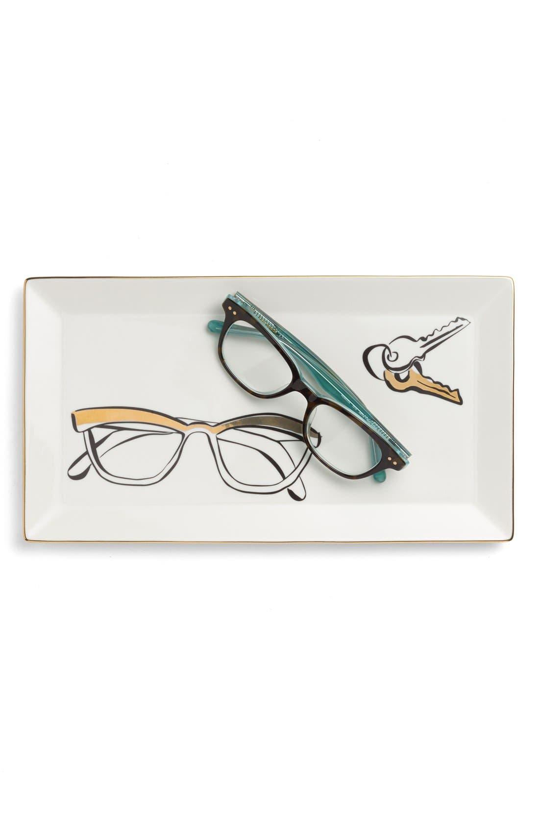 Alternate Image 2  - kate spade new york 'eyeglasses' trinket tray