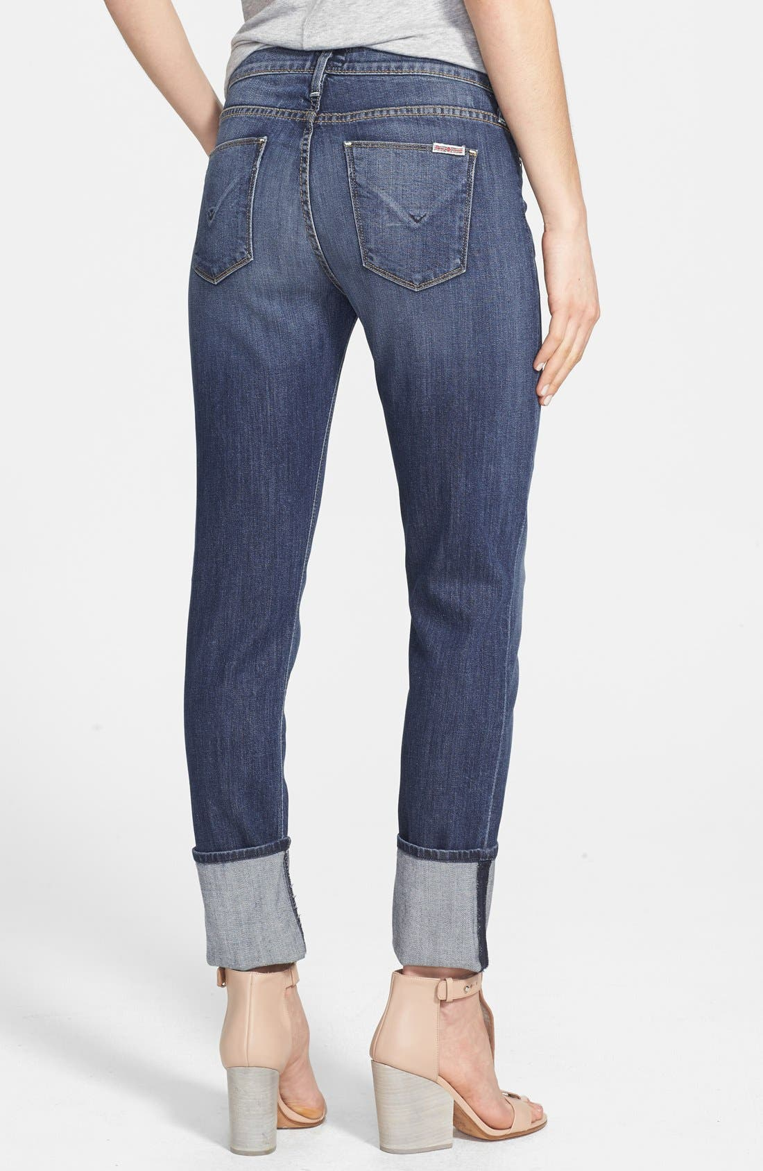 Alternate Image 2  - Hudson Jeans 'Muse' Cuff Crop Jeans (Indie)