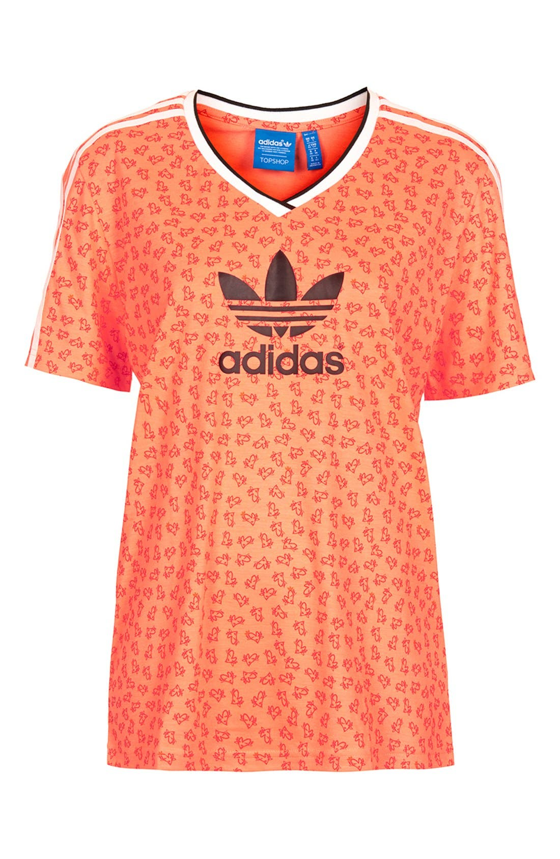Alternate Image 3  - Topshop x adidas Originals Football Tee