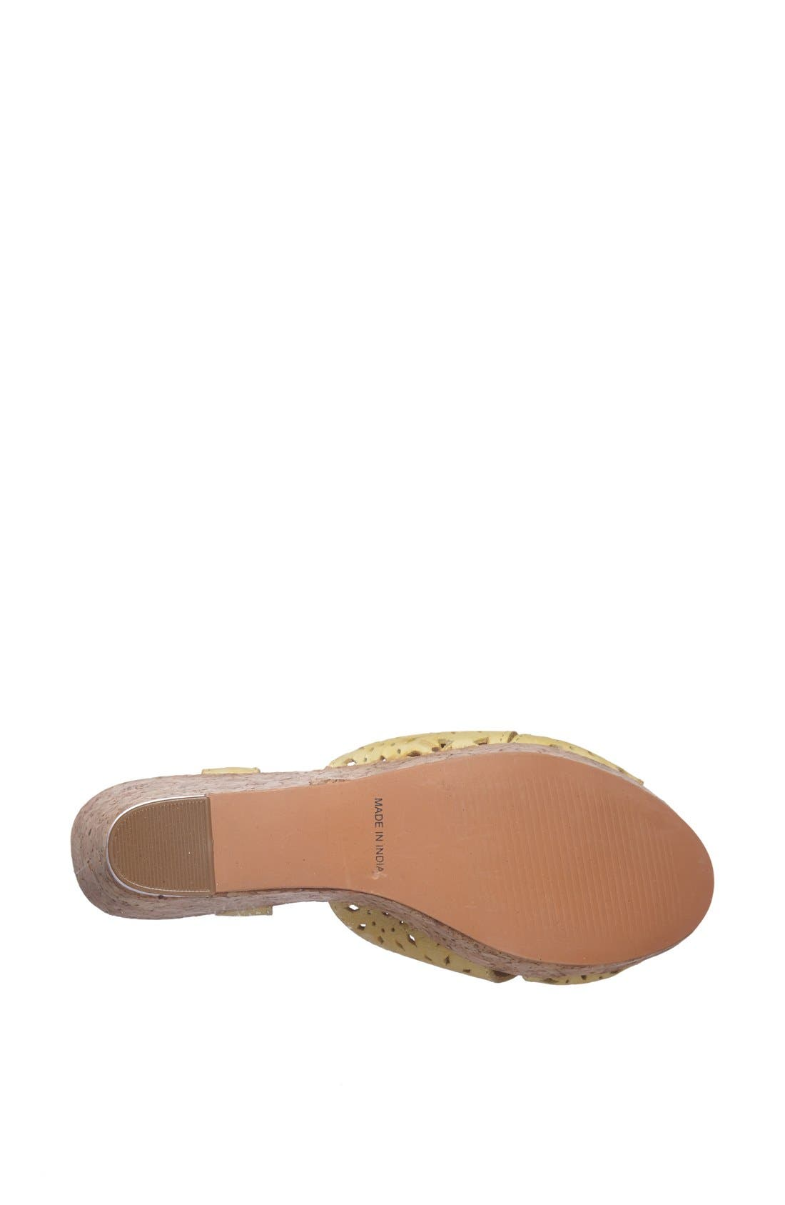 Alternate Image 4  - Matisse 'Sweet' Leather T-Strap Wedge Sandal