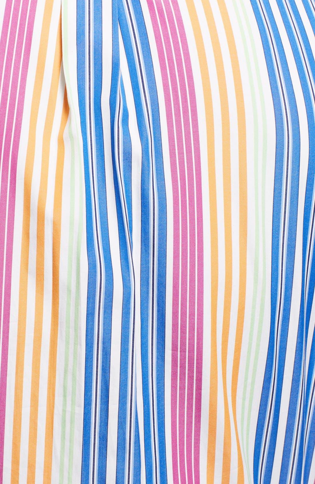 Alternate Image 3  - Polo Ralph Lauren Custom Fit Stripe Sport Shirt