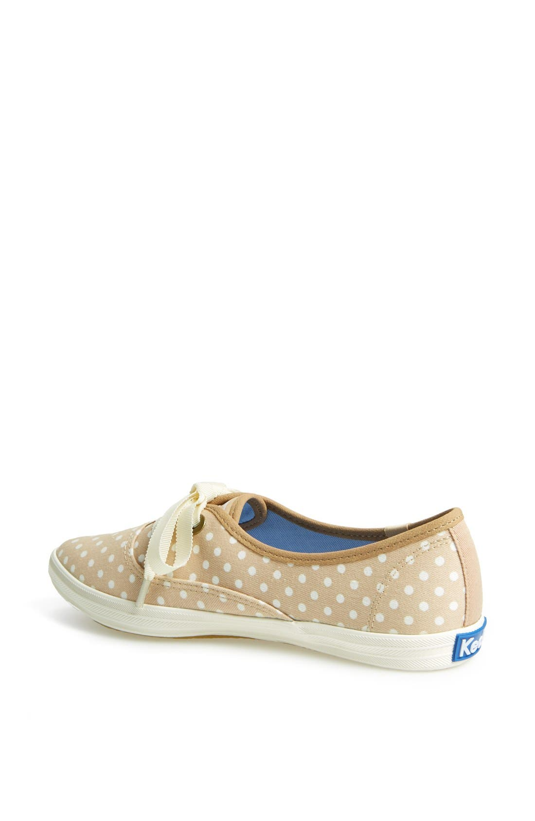 Alternate Image 2  - Keds® 'Pointer' Polka Dot Canvas Sneaker (Women)