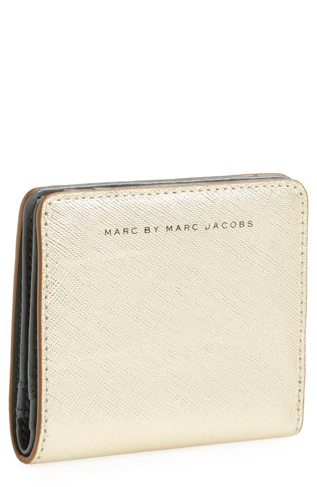 Alternate Image 1 Selected - MARC BY MARC JACOBS 'Sophisticato - Emi' Saffiano Leather Wallet