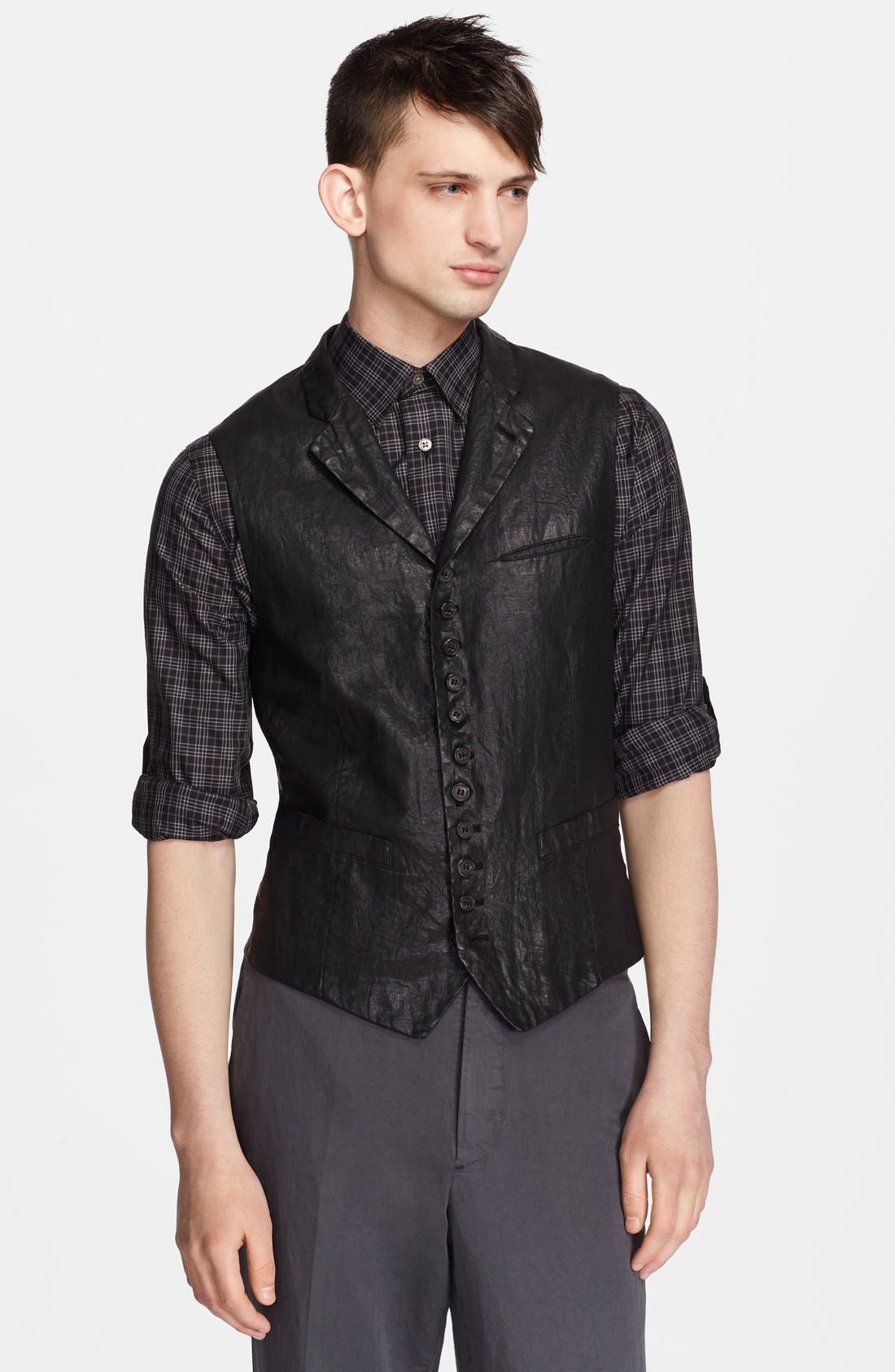 Alternate Image 1 Selected - John Varvatos Collection Notch Lapel Vest