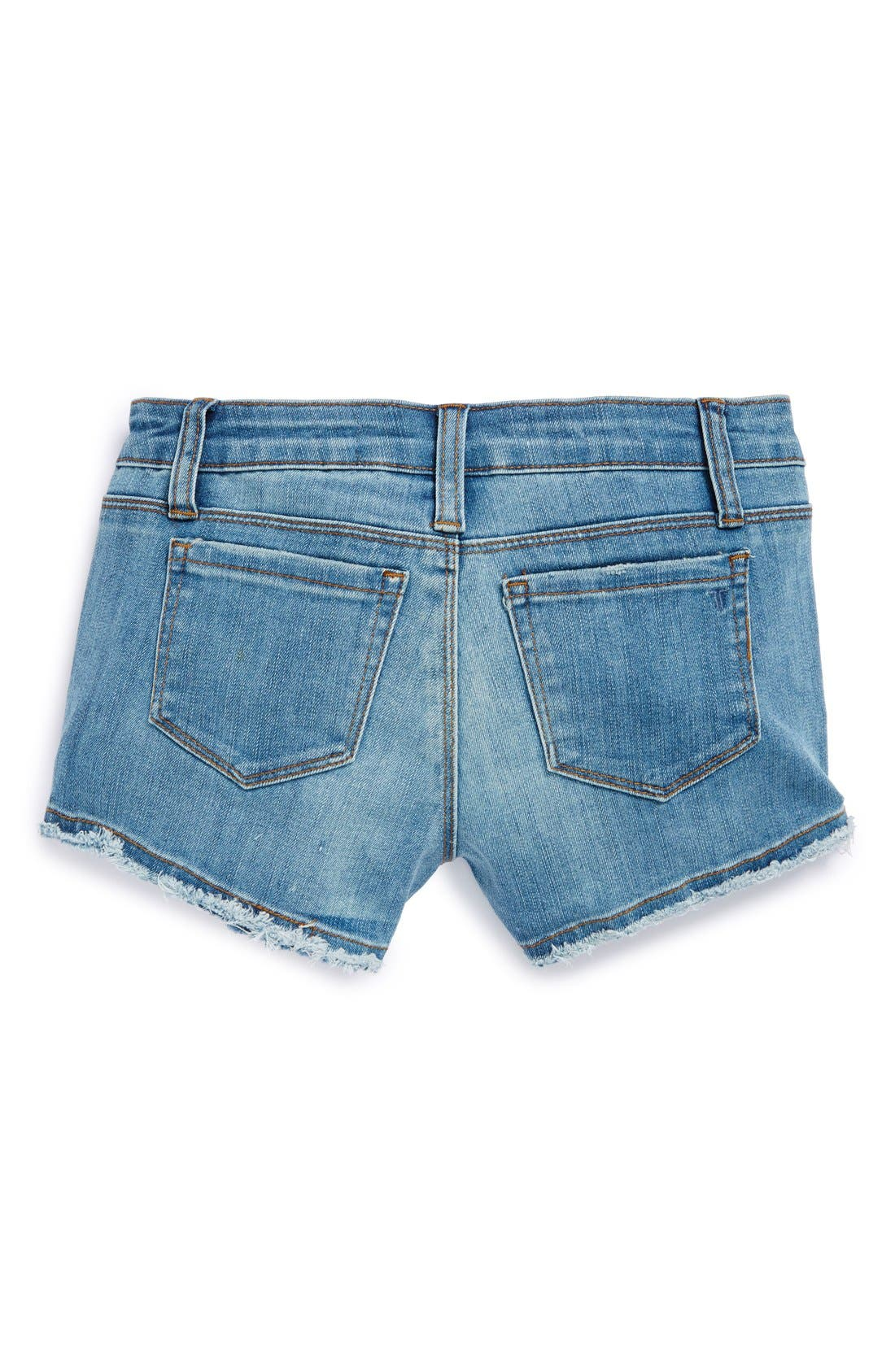 Alternate Image 1 Selected - Tractr Frayed Shorts (Big Girls)