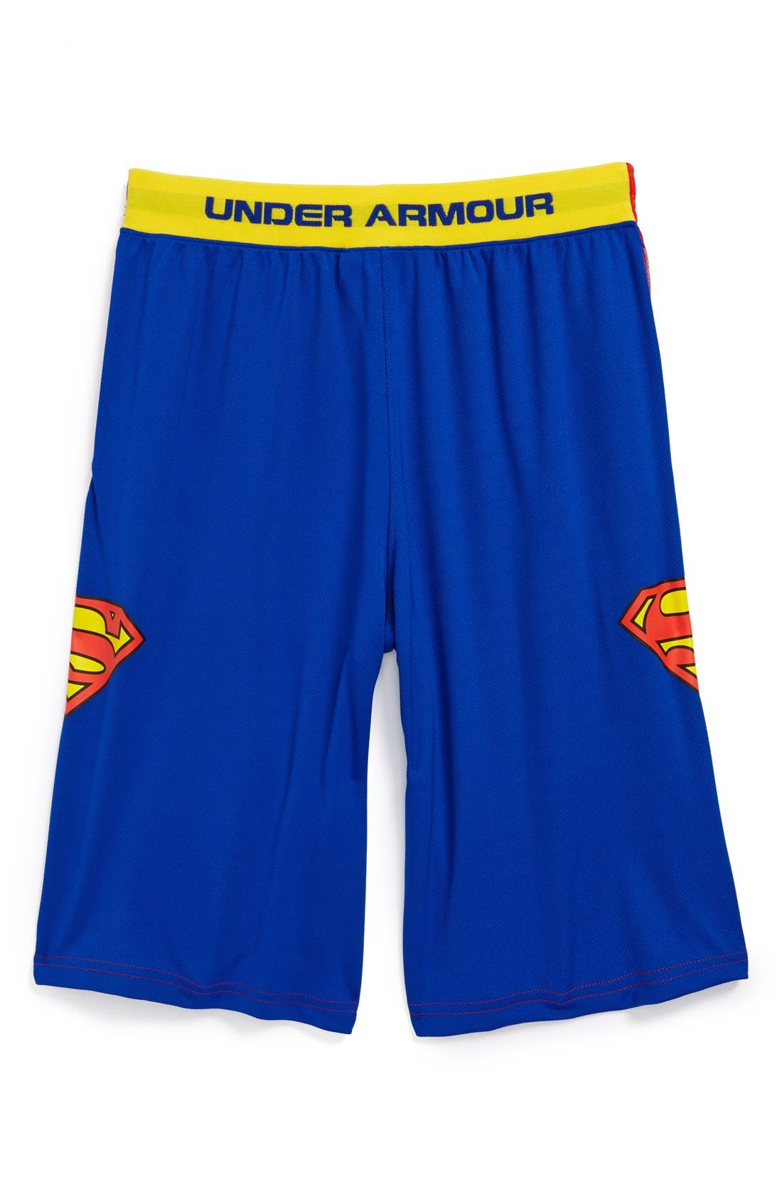 Main Image - Under Armour 'Alter Ego - Superman' Shorts (Little Boys & Big Boys)