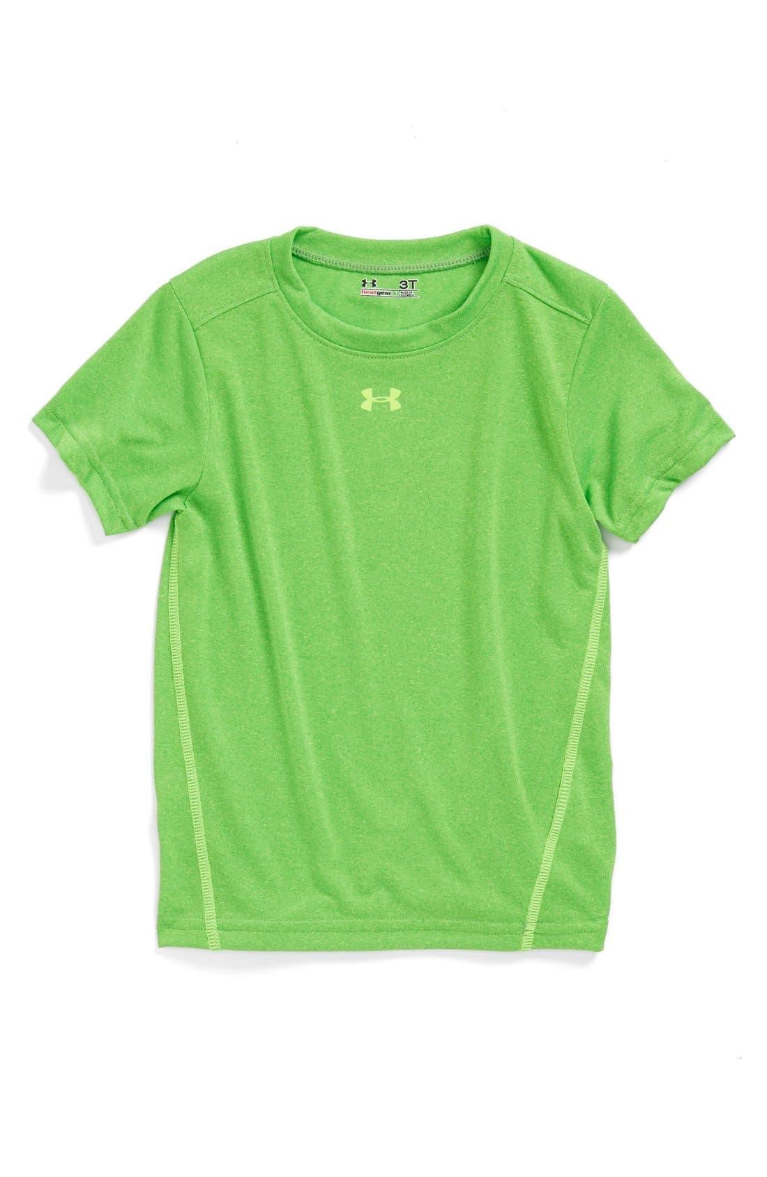 Alternate Image 1 Selected - Under Armour 'Commingled' HeatGear® T-Shirt (Toddler Boys)