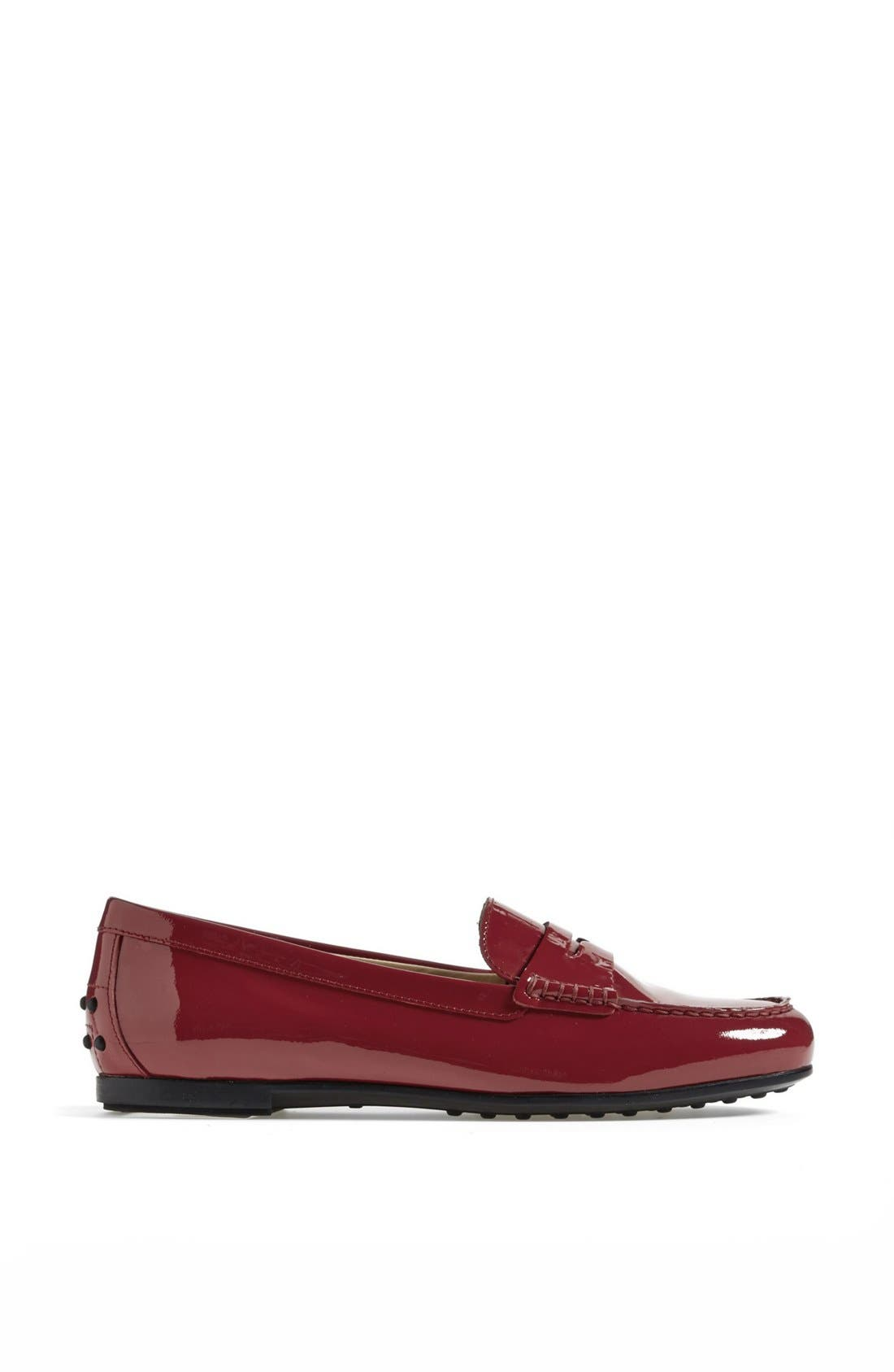 Alternate Image 4  - Tod's 'Gomma' Patent Leather Driving Moccasin