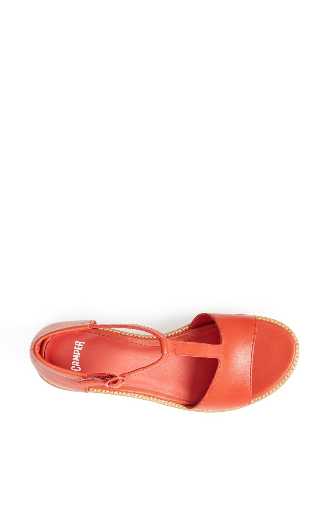 Alternate Image 3  - Camper 'Damas' T-Strap Wedge Sandal