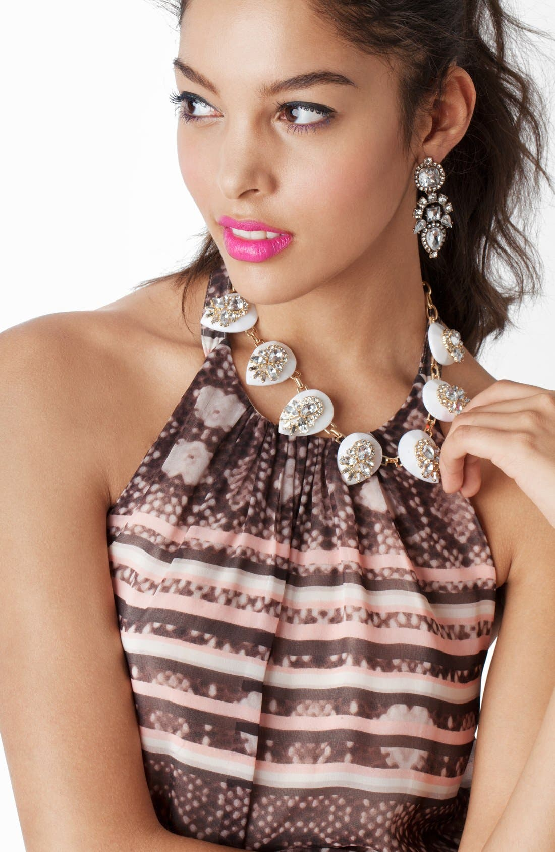 Alternate Image 2  - BaubleBar 'Clear Elizabeth' Collar Necklace