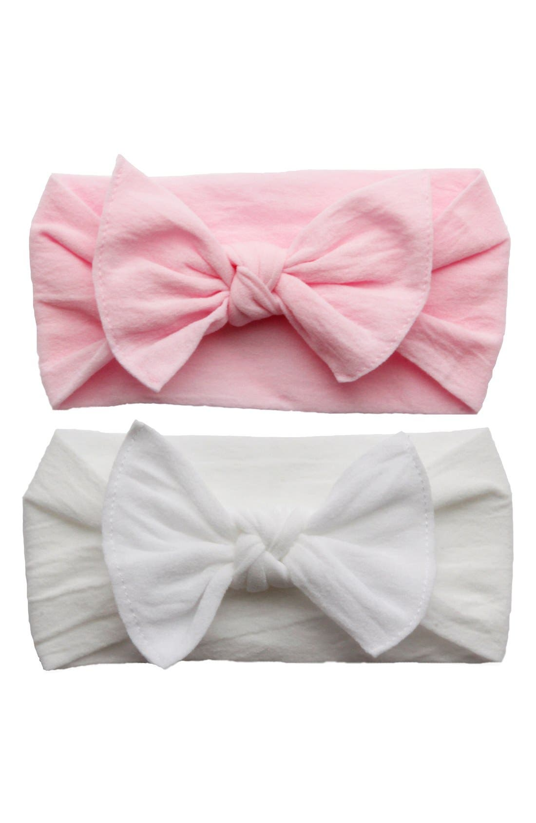 Alternate Image 1 Selected - Baby Bling Headbands (2-Pack)