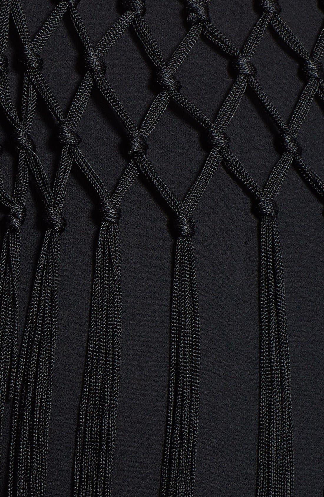 Alternate Image 3  - ASTR Fringe Overlay Shorts