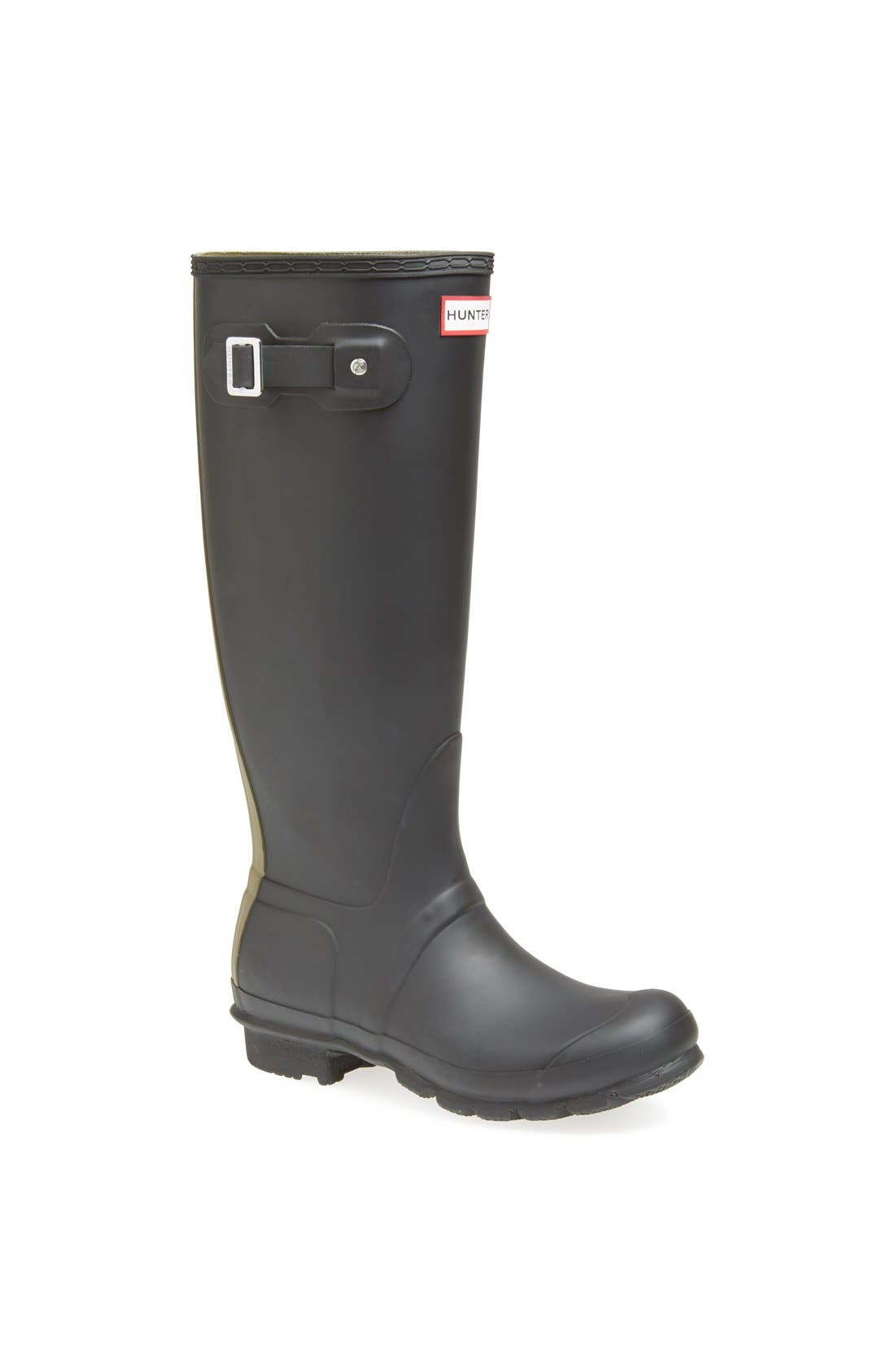 Main Image - Hunter 'Original - Stripe' Waterproof Rain Boot (Women)
