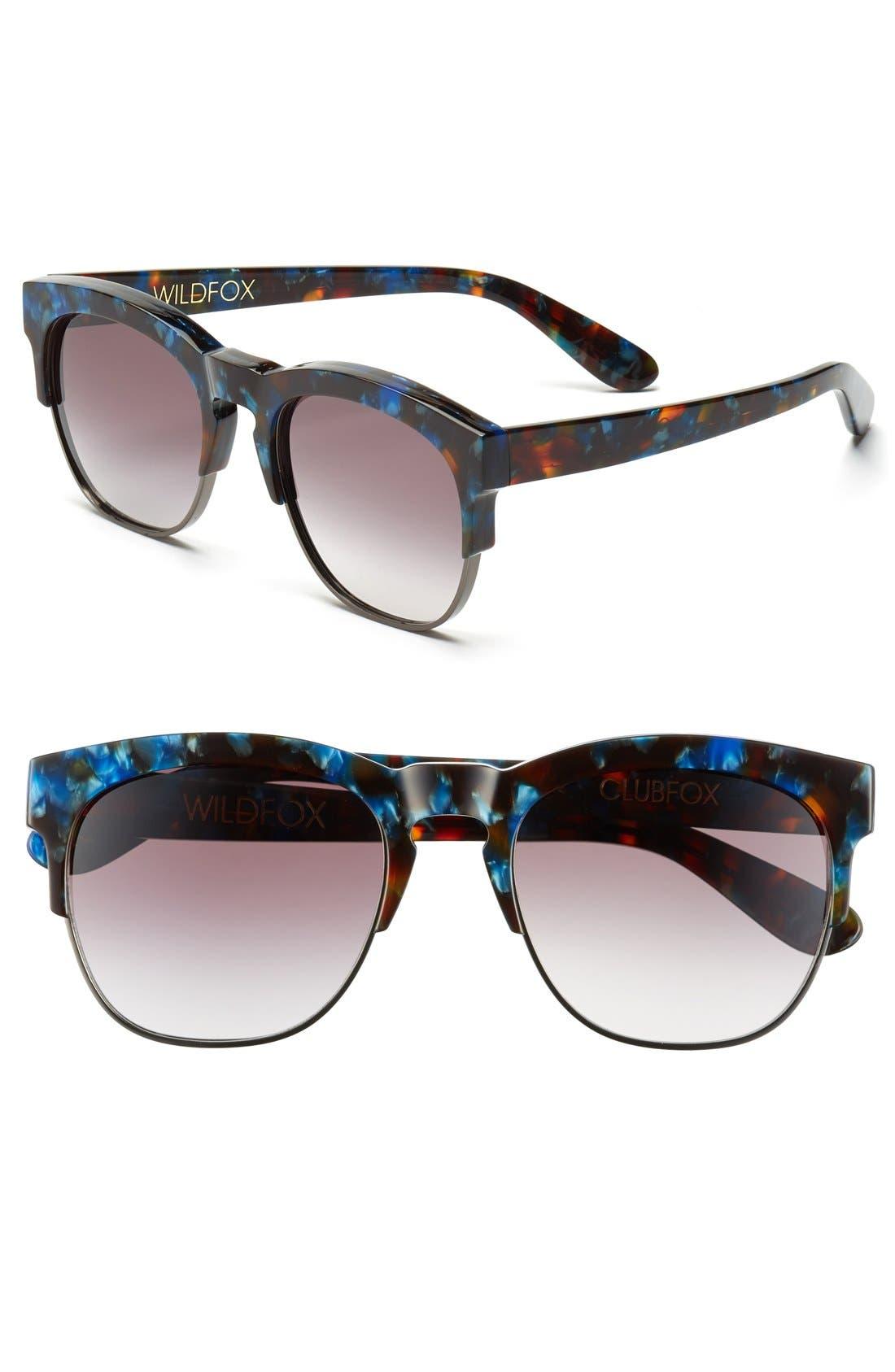 Main Image - Wildfox 'Club Fox' 52mm Sunglasses
