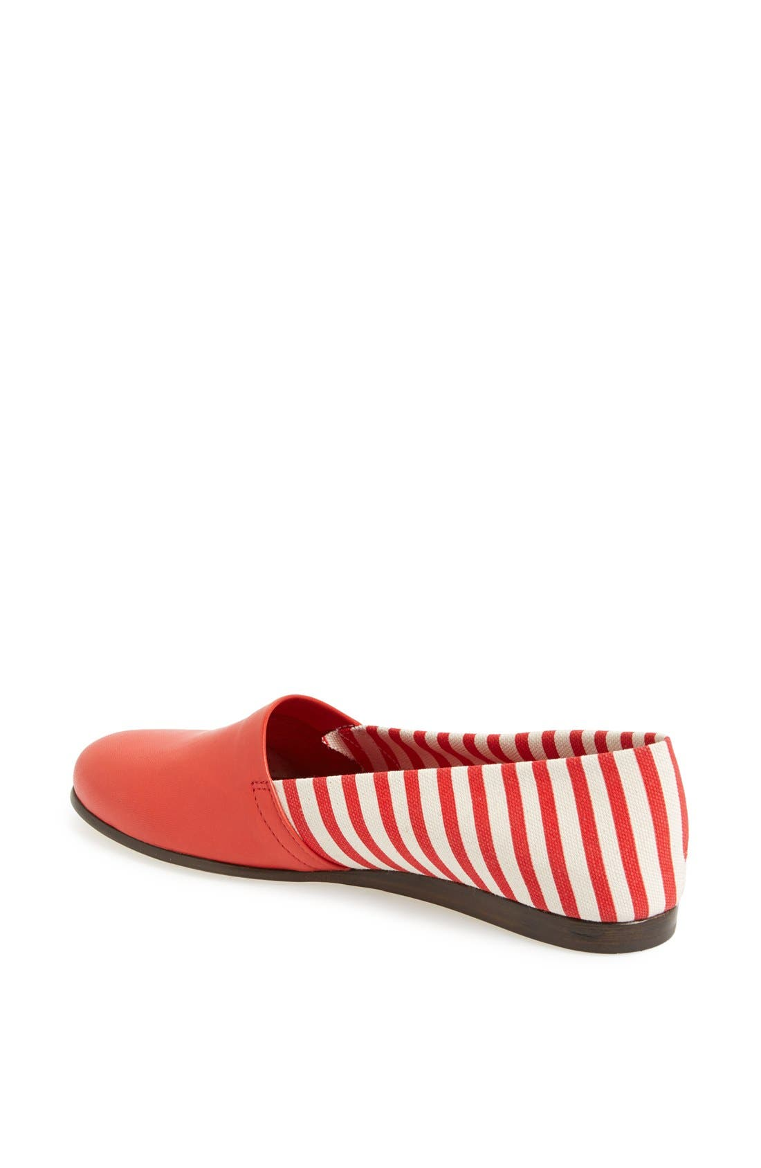 Alternate Image 2  - CB Made in Italy Stripe Flat Slip-On