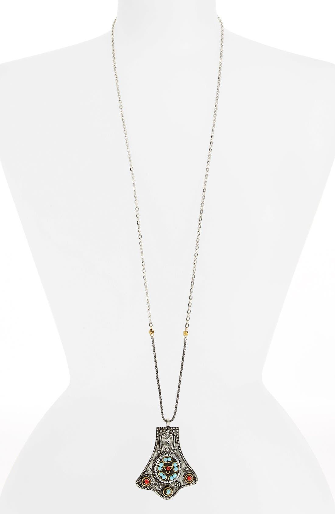 Alternate Image 1 Selected - Berry Embellished Pendant Necklace