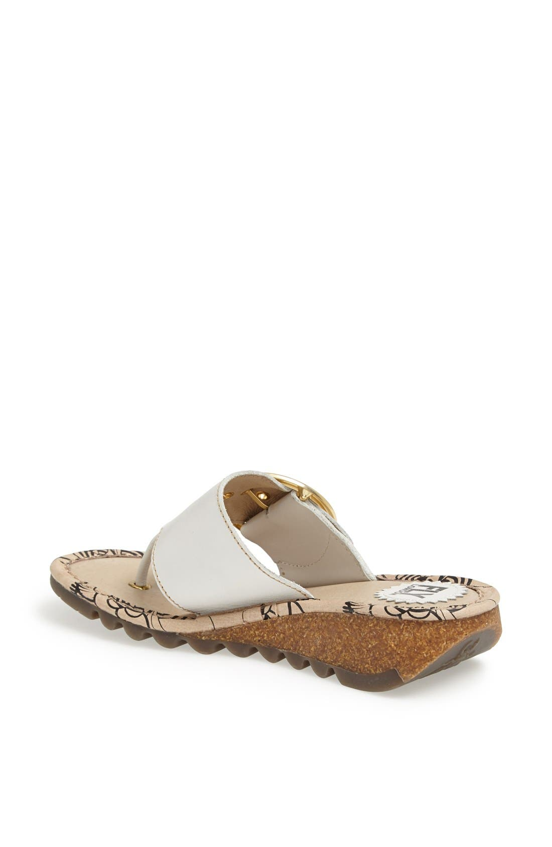 Alternate Image 2  - Fly London 'Trim' Thong Sandal