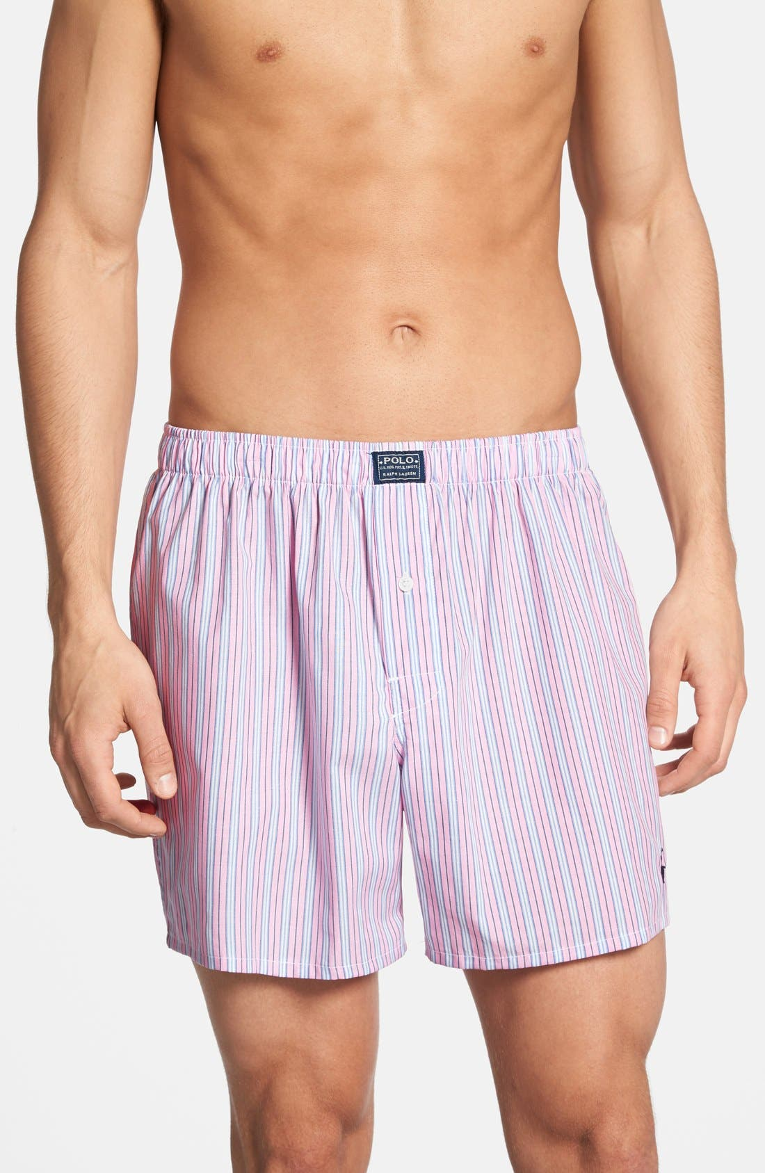 Alternate Image 1 Selected - Polo Ralph Lauren Woven Boxer Shorts