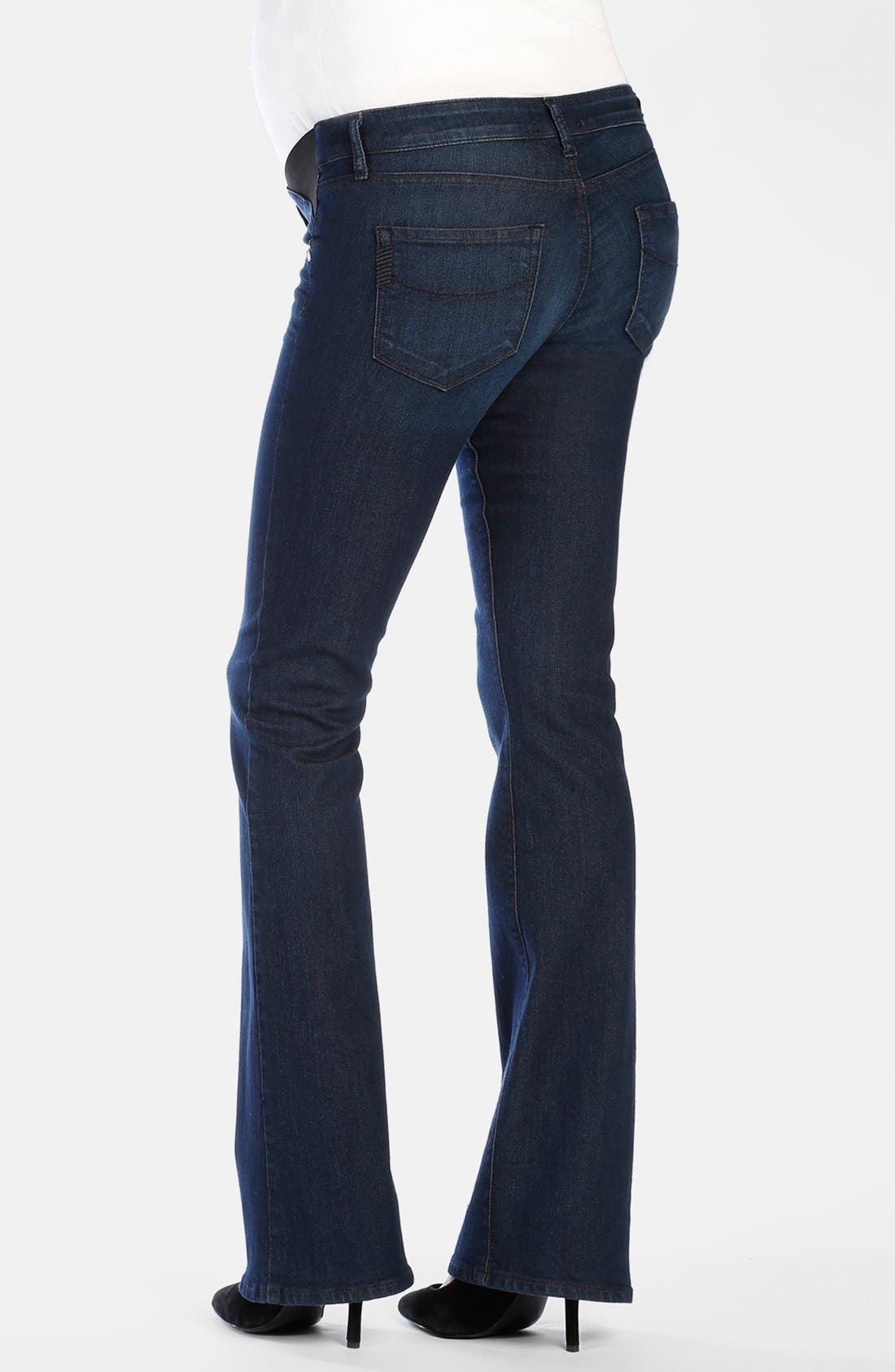 Alternate Image 2  - Paige Denim 'Skyline' Bootcut Maternity Jeans (Alexis)