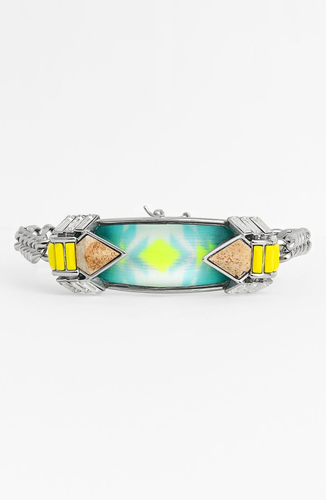 Alternate Image 1 Selected - Alexis Bittar 'Lucite® - Neon Deco' ID Bracelet