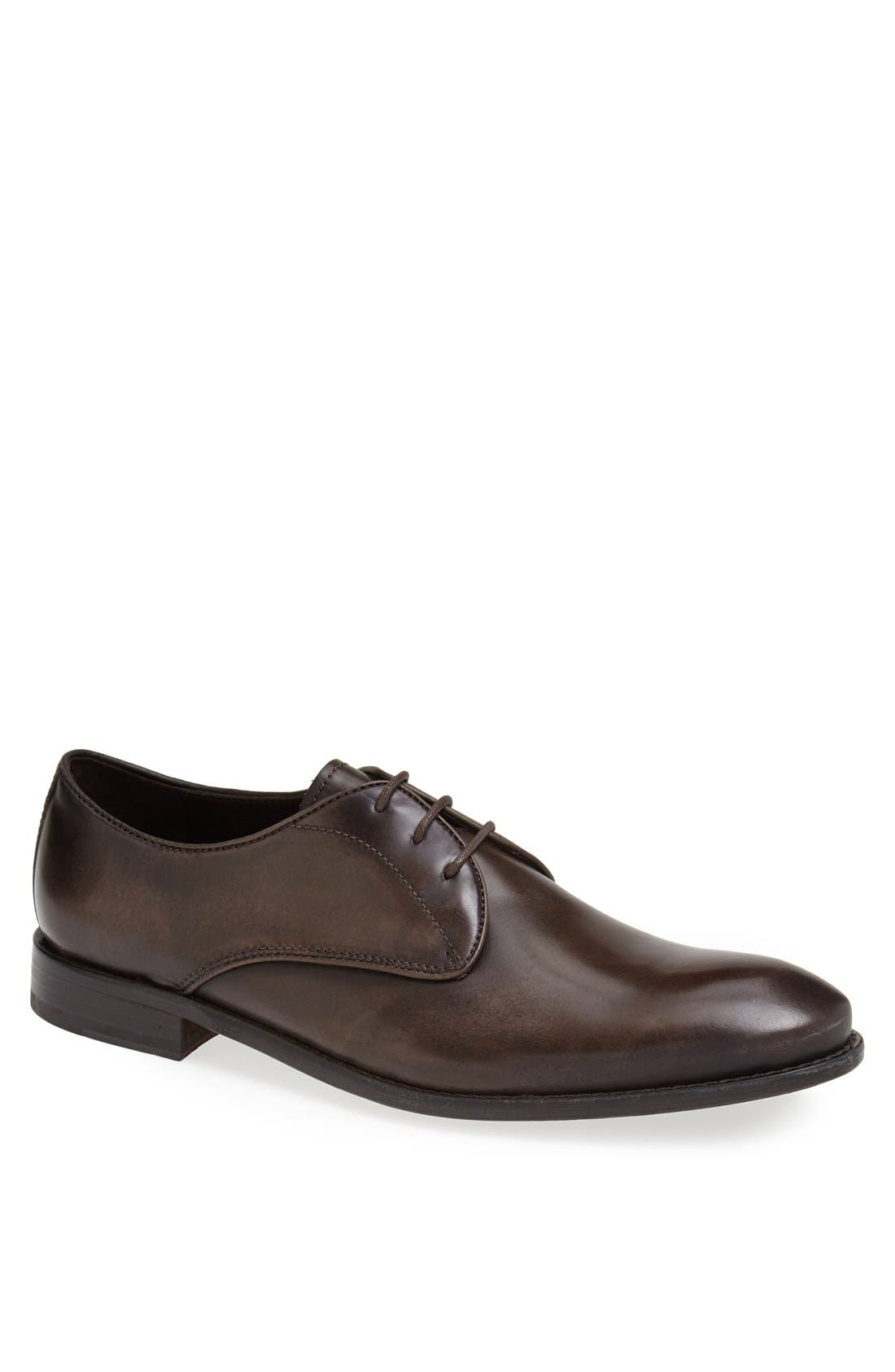 Main Image - John Varvatos Star USA 'Hallowell' Plain Toe Derby