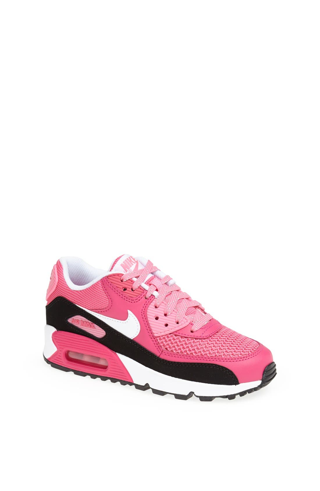 Alternate Image 1 Selected - Nike 'Air Max 90 LE' Running Shoe (Big Kid)