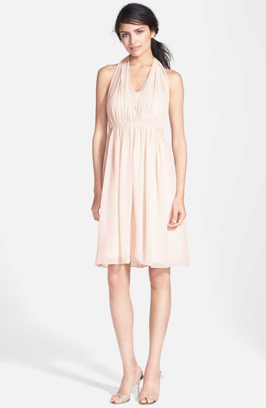 Alternate Image 6  - Jenny Yoo 'Keira' Convertible Strapless Chiffon Dress