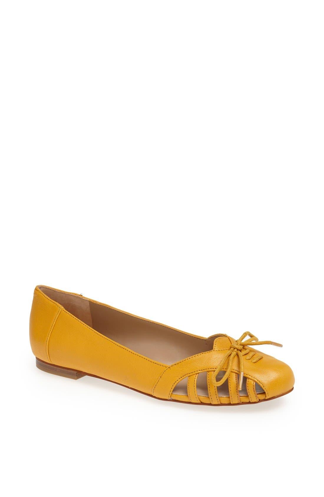 Main Image - Sole Society 'Meredithe' Leather Flat