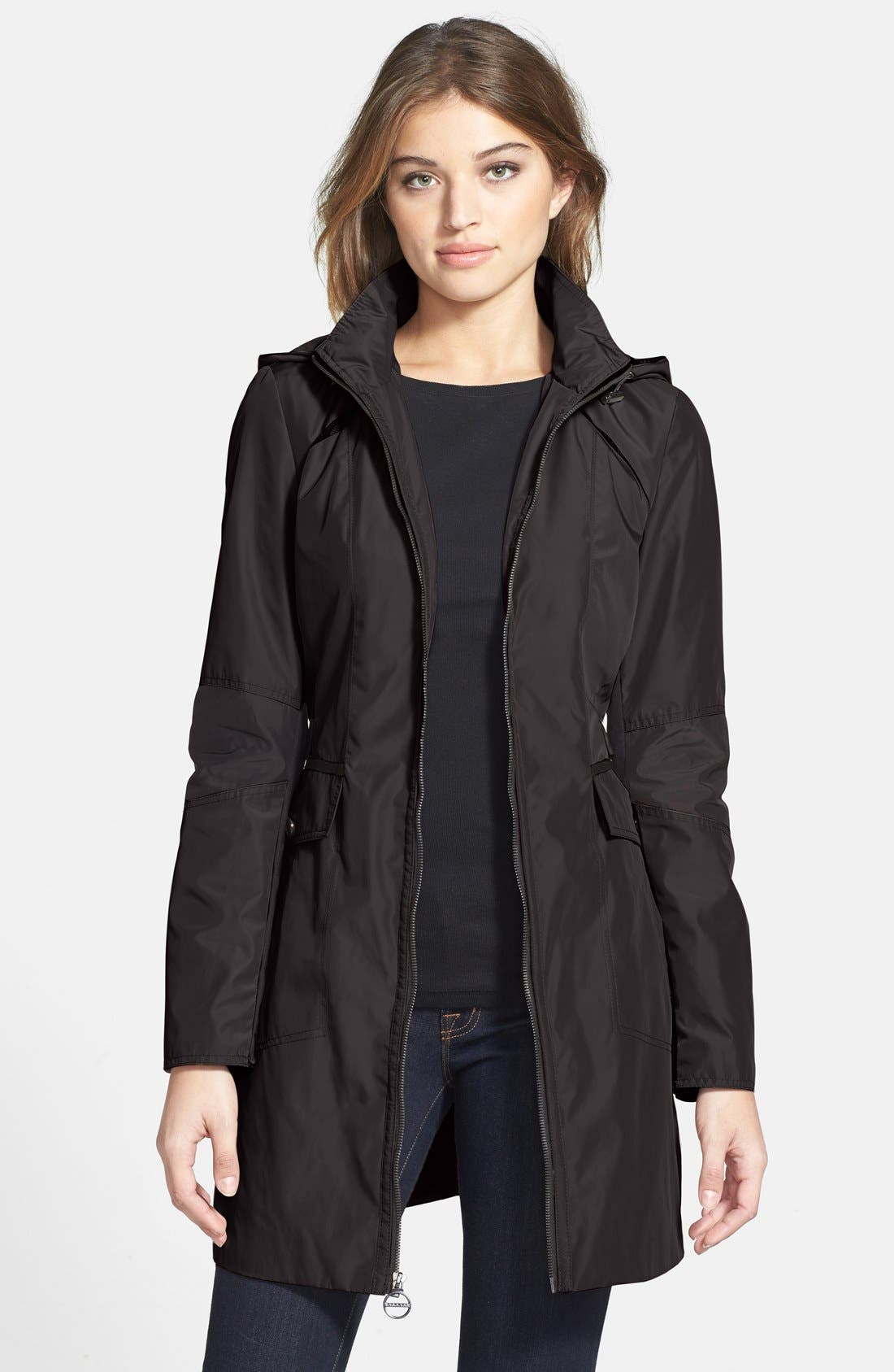 Main Image - Laundry by Shelli Segal Packable Colorblock Anorak