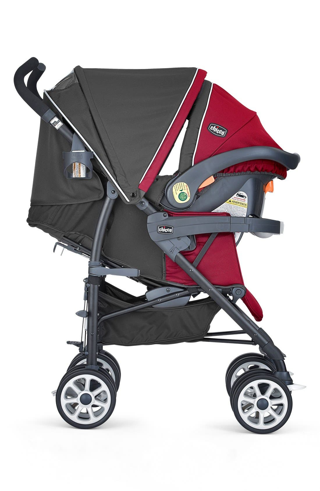 Alternate Image 2  - Chicco 'Neuvo™ Travel System' Car Seat & Stroller