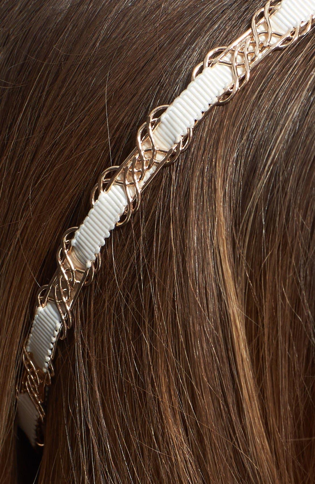 Alternate Image 2  - Tasha 'Pretty and Preppy' Headband
