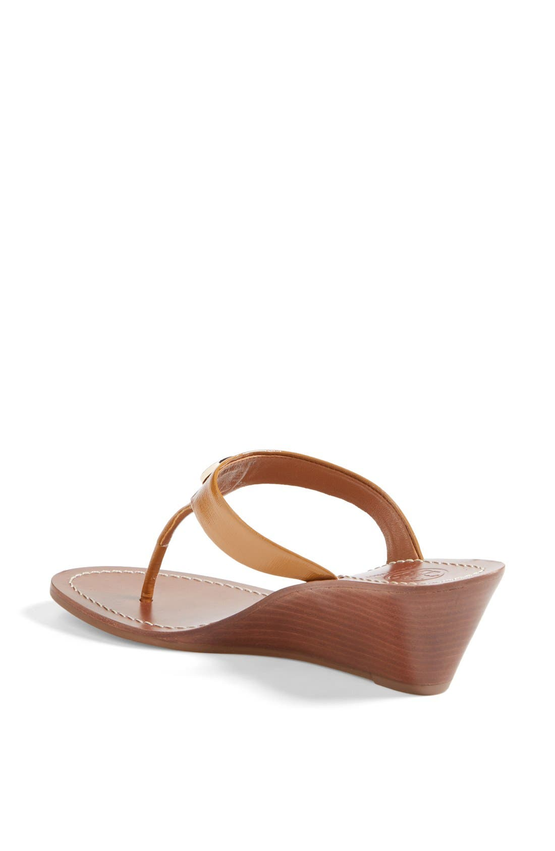 Alternate Image 2  - Tory Burch 'Cameron' Wedge Sandal (Online Only)