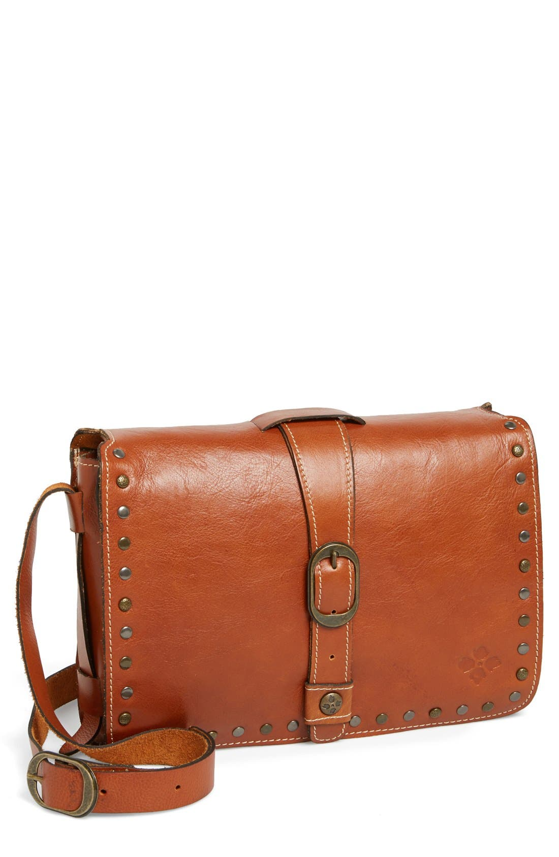 Alternate Image 1 Selected - Patricia Nash 'Mantova' Leather Crossbody Bag