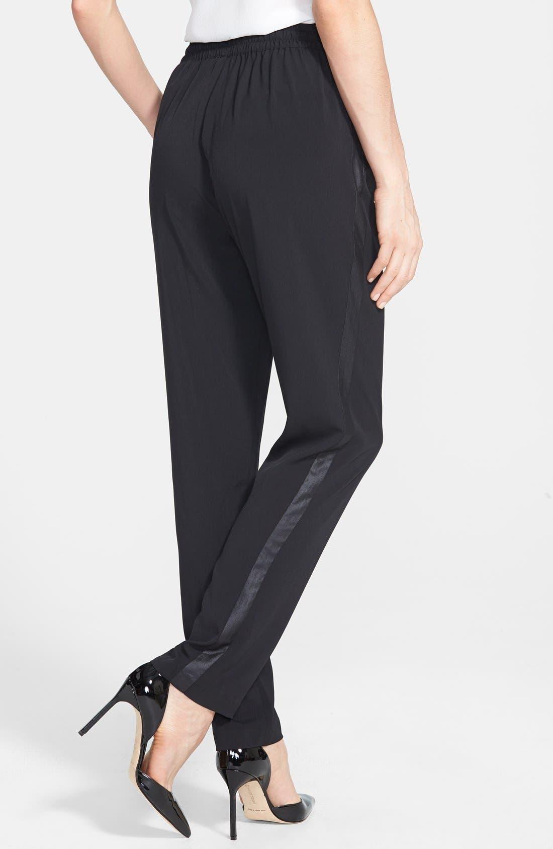 Alternate Image 2  - kensie Lightweight Stretch Crepe Crop Pants