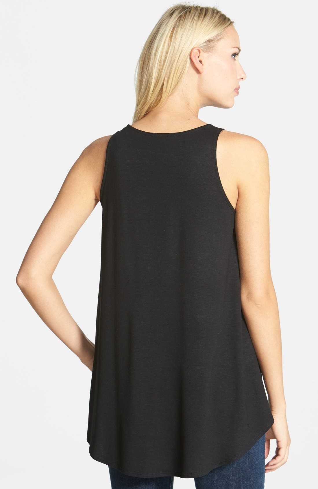 Alternate Image 2  - Eileen Fisher Sleeveless Jersey Tunic