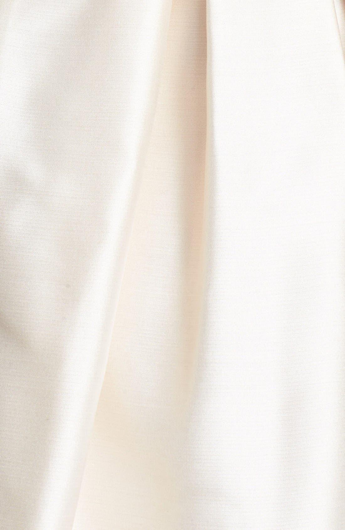 Alternate Image 4  - Shoshanna 'Shaina' Silk Satin Fit & Flare Dress