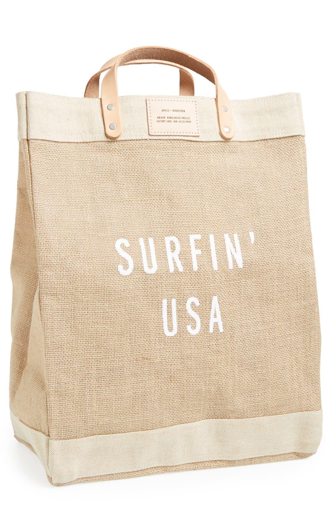 Alternate Image 2  - Apolis 'Surfin USA' Market Bag