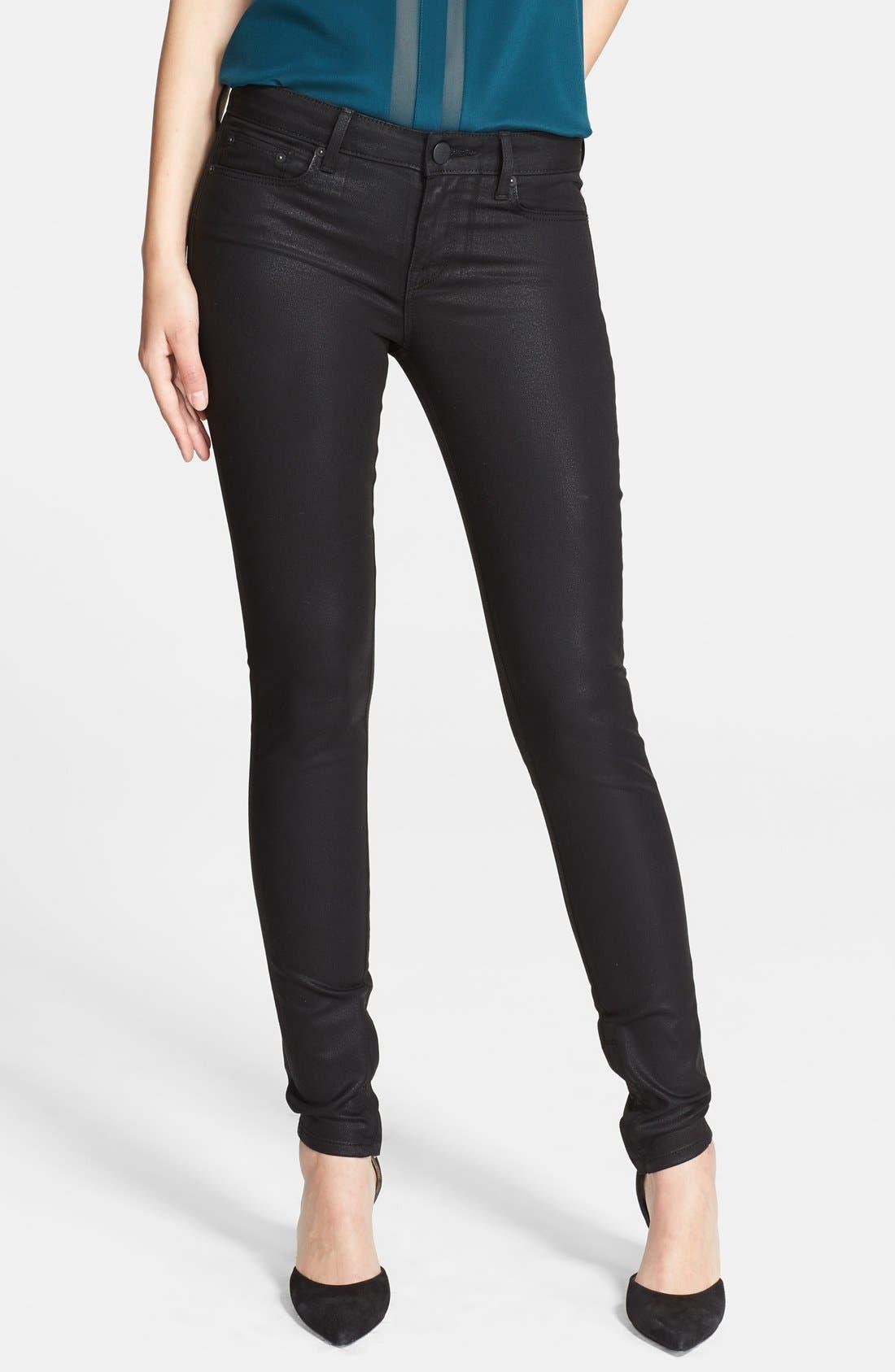 Alternate Image 1 Selected - Vince Zip Ankle Skinny Jeans