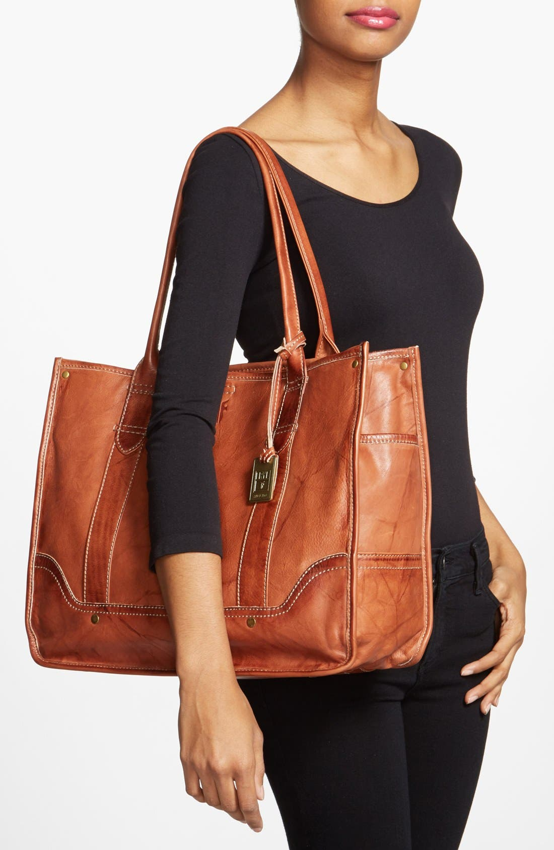 Alternate Image 2  - Frye 'Campus' Leather Shopper