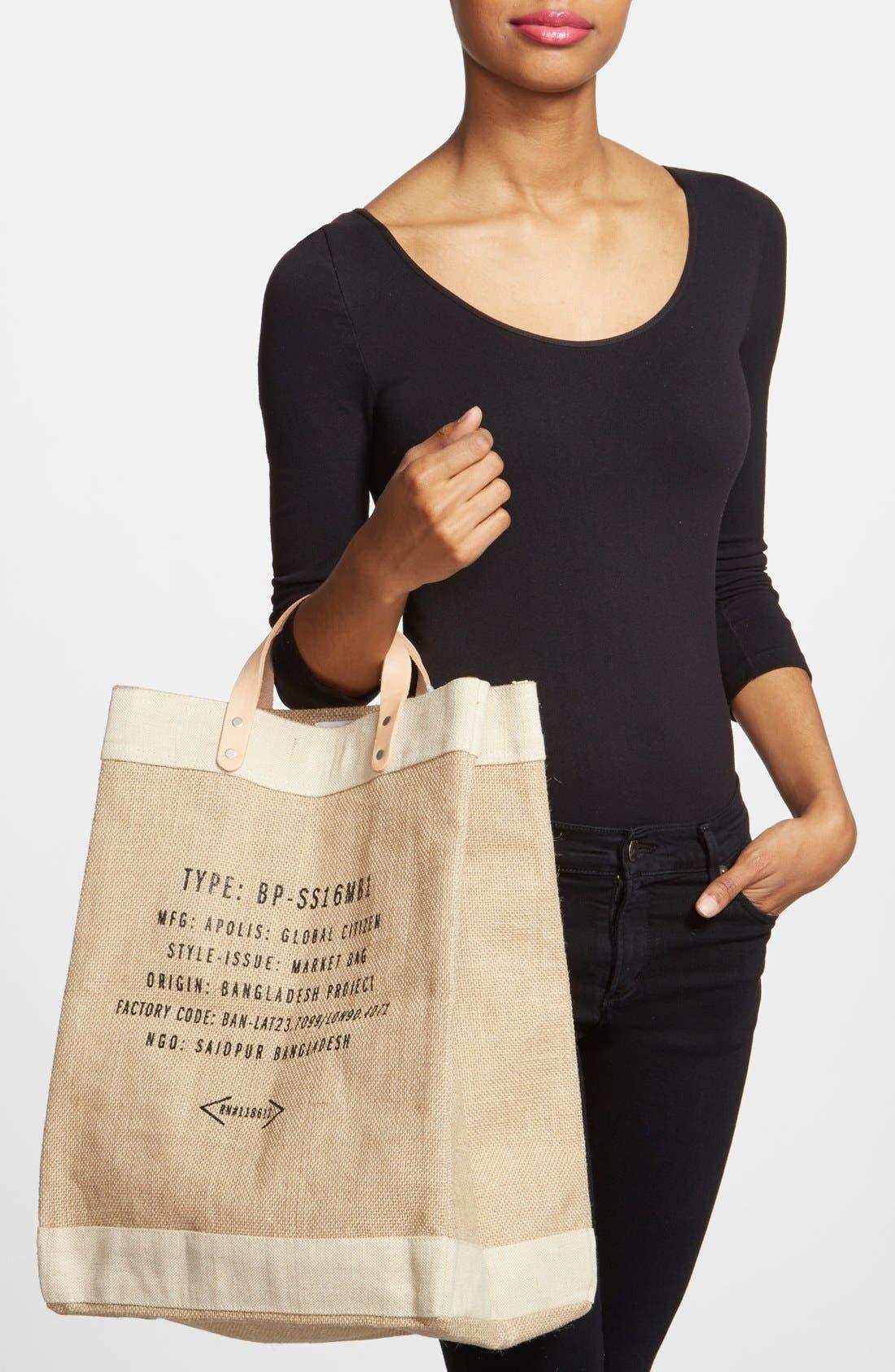 Alternate Image 5  - Apolis 'Surfin USA' Market Bag