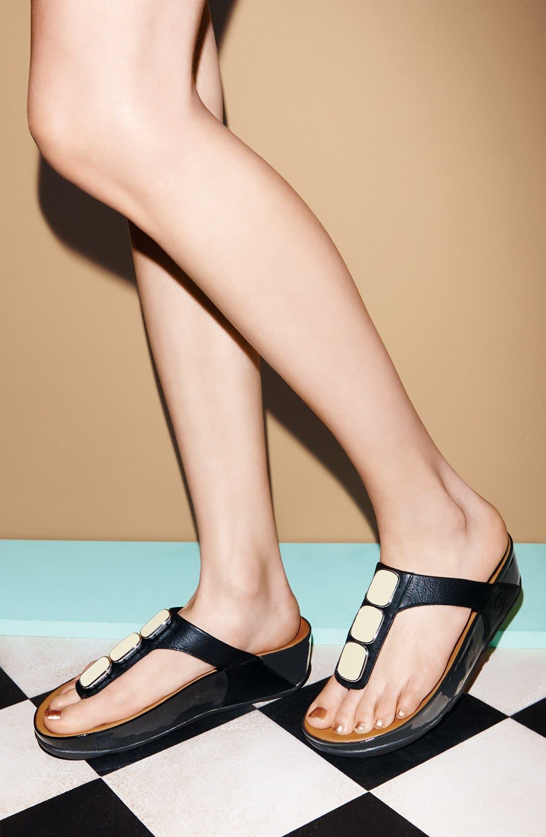 Alternate Image 5  - FitFlop™ 'Pietra II' Sandal