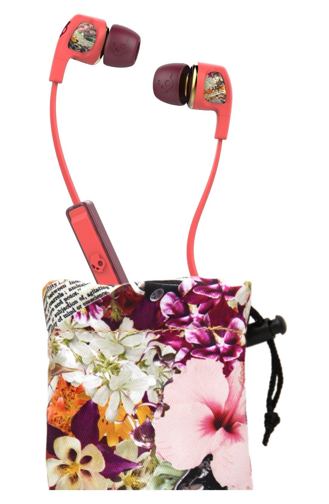 Alternate Image 2  - Skullcandy 'Dime - Floral' Earbuds