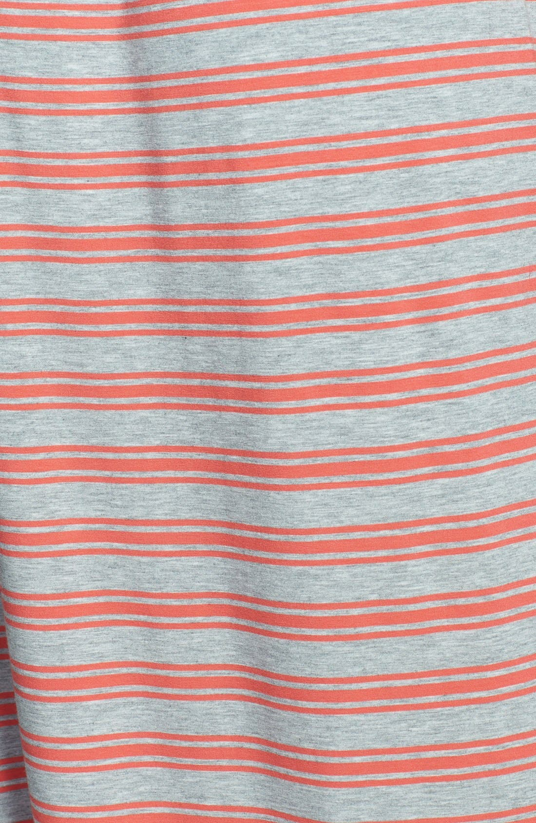 Alternate Image 3  - Caslon® Midi Faux Wrap Halter Dress (Regular & Petite)