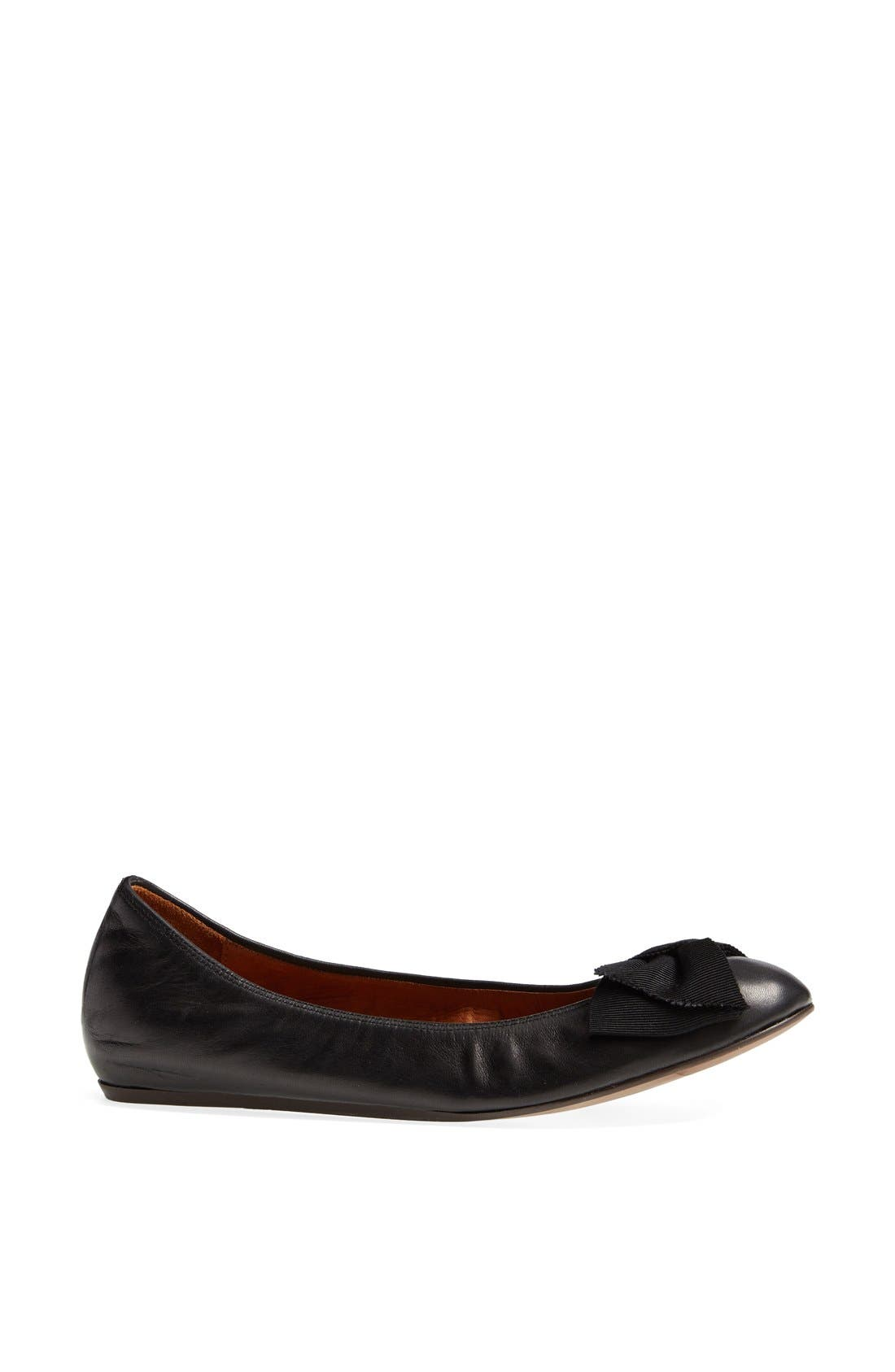 Alternate Image 4  - Lanvin Bow Ballerina Flat (Women)