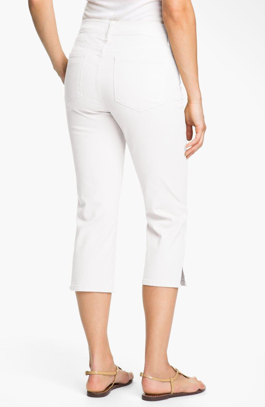 Alternate Image 2  - NYDJ 'Nanette' Stretch Crop Jeans (Petite)