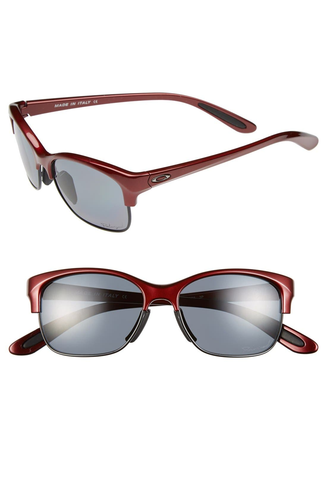 Alternate Image 1 Selected - Oakley 'RSVP' 53mm Sunglasses
