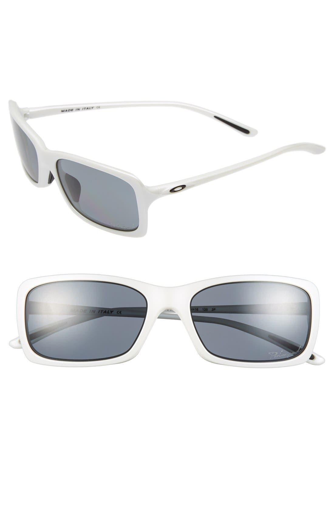 Main Image - Oakley 'Hall Pass' 56mm Polarized Sunglasses