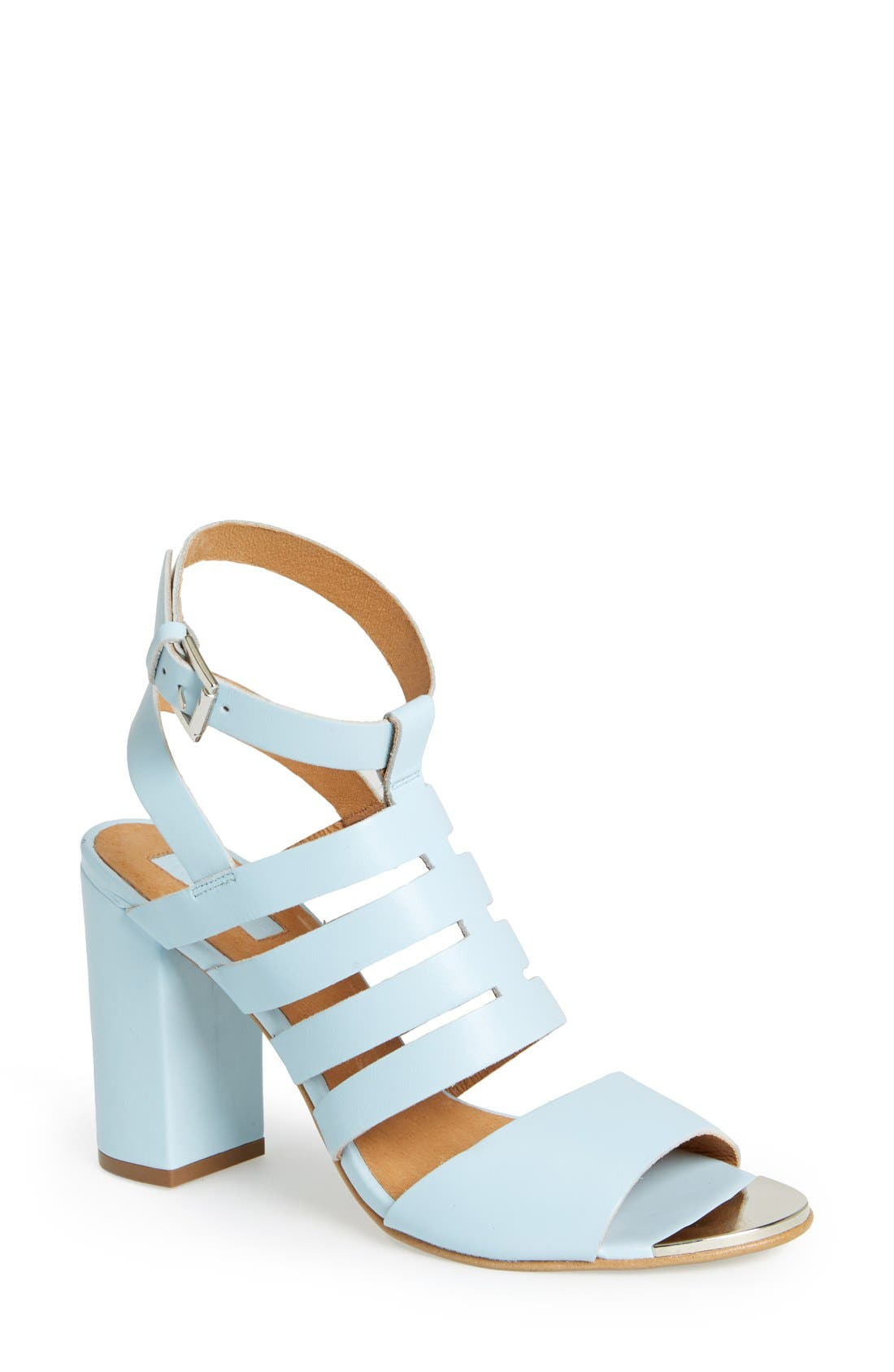 Alternate Image 1 Selected - Topshop 'Rainbow' Sandal