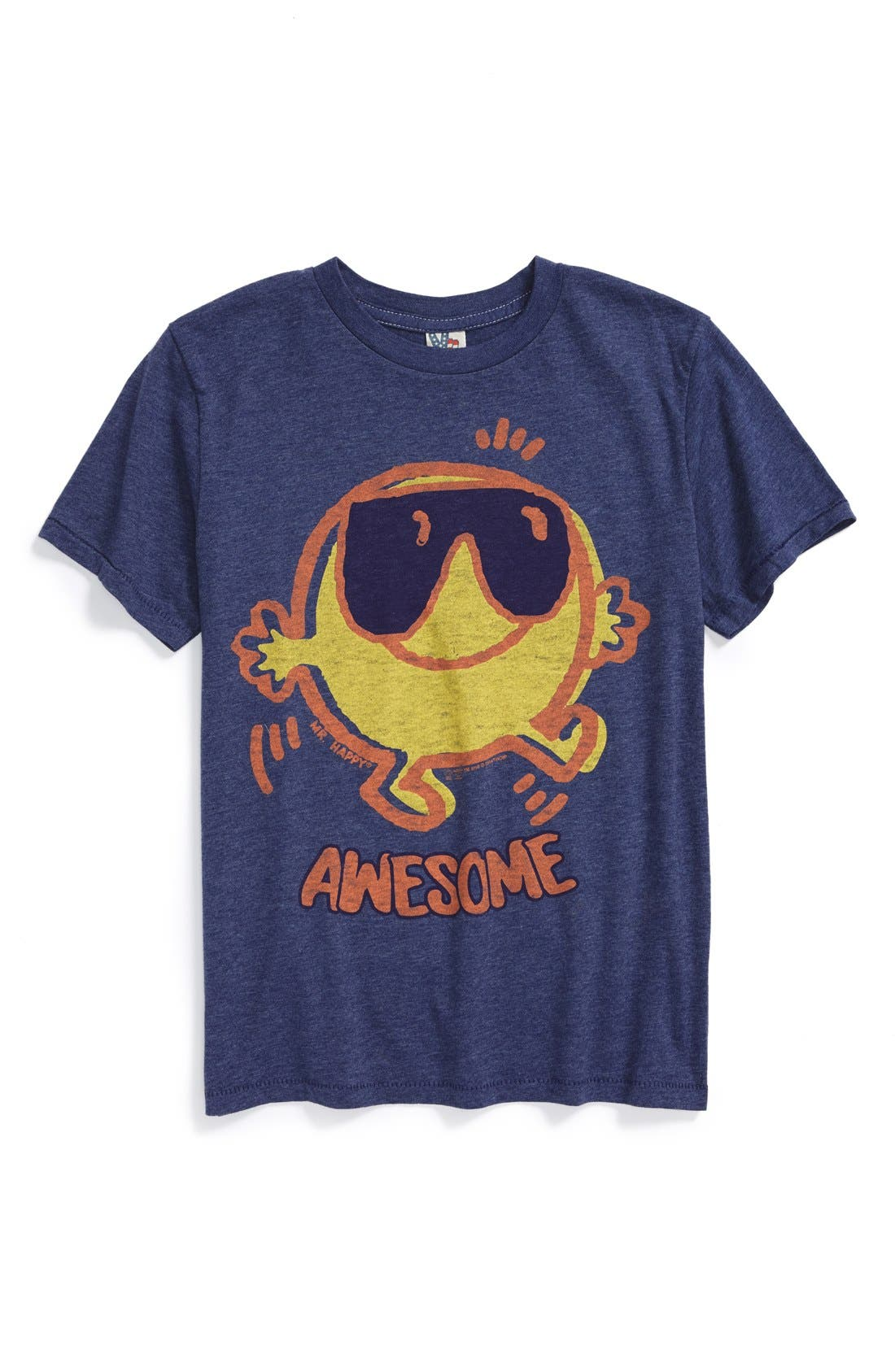 Alternate Image 1 Selected - Junk Food 'Awesome' T-Shirt (Little Boys)
